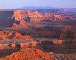 Colorado River Canyonlands seen from Dead Horse Point State Park, Utah