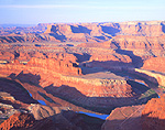 The Gooseneck seen from Dead Horse Point State Park, Utah