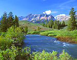 Big Wood River & Easley Peak/Boulder Mountains, Idaho