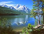 Stanley Lake & McGown Peak, Sawtooth National Recreation Area, Idaho
