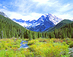 Kane Creek and The Devils Bedstead in Idaho's Pioneer Mountains