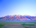 Lost River Range and Thousand Springs Valley near Mackay, Idaho