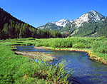 Headwaters of the Salmon River in Idaho's Smoky Mountains
