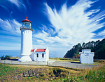 North Head Lighthouse at Cape Disappointment State Park, Washington  (Formerly Fort Canby State Park)