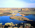 Dry Falls & Lower Grand Coulee, Washington