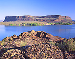 Steamboat Rock and Banks Lake, Washington