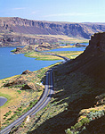 Lake Lenore & Lower Grand Coulee, Washington