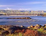 The Dalles Dam & Columbia River, Oregon
