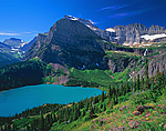 Grinnell Lake, Angel Wing & The Garden Wall, Glacier National Park, Montana