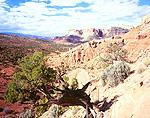 Western face of Waterpocket Fold, Capitol Reef National Park, Utah