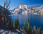 Mt. Regan & Sawtooth Lake in Idaho's Sawtooth Range