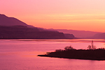 Dawn in the Columbia River Gorge near Biggs, Oregon