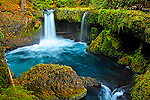 Spirit Falls, Columbia River Gorge National Scenic Area, Washington