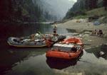 River camp, Main Salmon River, Idaho