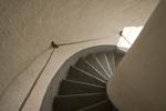 Spiral stairway inside