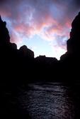Sunset over Colorado River, Grand Canyon National Park, AZ