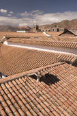 Tile roofs, Cusco, Peru