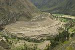 Patallacta Ruins from the Inca Trail Peru
