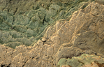 Bright angel shale (middle Cambrian) in Granite Park (RM 209) on the Colorado River in the Hualapai Indian Reservation AZ