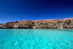 Quite bay at Isla Espiritu Santo (Holy Ghost Island) in the Sea of Cortez near La Paz, Baja California Sur, Mexico