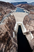 Hoover Dam on the Colorado River, Nevada/Arizona