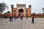 Great Gateway to the Taj Majal in Agra, India