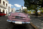 1953 Plymouth convertible in excellent condition in Cienfuegos Cuba