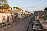 run-down section of Trinidad Cuba