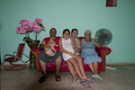 Cuban Family hosting a Casa Particulare in Trinidad Cuba
