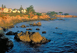 Pacific Grove and its shoreline, a part of central California's scenic Monterey Peninsula.