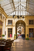 The Galerie Vivienne, near the Palais Royal, is a beautifully-restored 19C arcade.