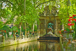 The Medicis Fountain offers a tranquil spot to rest in the Luxembourg Garden.