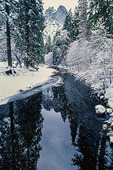 Spanish Creek in winter, by the Cascades Trail near the High-Sierra town of Quincy, CA.