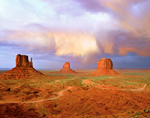 Monument Valley Approaching Storm