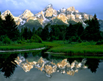 Sunrise on the Snake River, Grand Tetons, Jackson, Wyoming