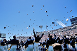 US Air Force Academy Graduation with US Air Force Thunderbirds flyover