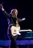 Tom Petty performes at the Mile High Music Festival in Denver