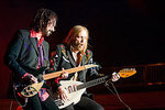 Tom Petty & Mike Campbell performes at the Mile High Music Festival in Denver