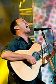 Dave Matthews performs at the Mile High Music Festival in Denver on 7/20/08