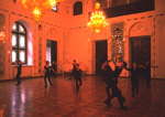 Georgian youth dancers rehearse in the Pioneer Palace in Tbilisi Republic of Georgia