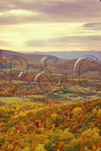 Autumn view of Browntown, Shenandoah National Park, Virginia