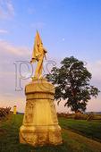 132nd Pennsylvania Regiment Monument at Bloody Lane, Antietam National Battlefield, Sharpsburg, Maryland
