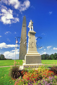 Seth Warner Statue and Bennington Battle Monument, Bennington, Vermont