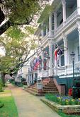Street in Historic District, Wilmington, North Carolina