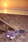 Sunset Over Chesapeake Bay, First Landing State Park, Virginia Beach, Virginia