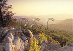 Sunset View from The Point, Shenandoah National Park, Virginia