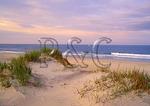Boat Passes At Sunset, Pea Island, Cape Hatteras National Seashore, North Carolina