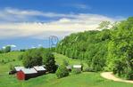 Jenny Farm In Spring, South Woodstock, Vermont