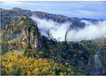 Pyramidal Towers, Breaks Interstate Park, Haysi, Virginia