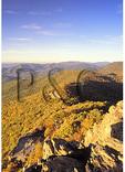 Skyline Drive Seen From the Appalachian Trail, Little Stony Man Mountain